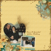 Nana & Grandad Golden Wedding