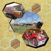 Old Trucks in Centennial WYO