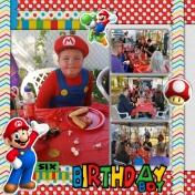 Birthday Boy Dustins 6th Birthday
