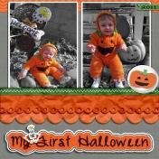 Dustin's First Halloween
