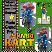 Mario Kart Dustin Style