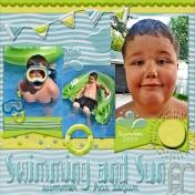 Swimming And Sun....Summer Has Begun