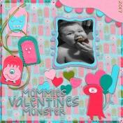Mommies Valentine's Monster 2017