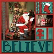 Believe- Santa 2018