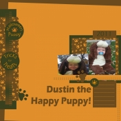 Dustin the Halloween Puppy