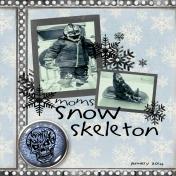 Snow Skeleton