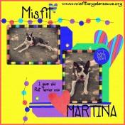Little Misfit Martina