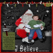 I Believe.....