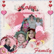 Love Family Valentine