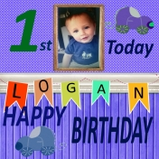 Logand 1st Birthday