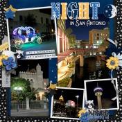 Night in San Antonio