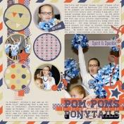 Pom-Poms and Ponytails