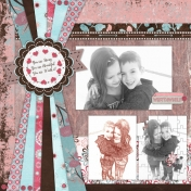 Twin's Double-Page Layout- Left