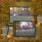 My Home in Autumn