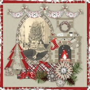 Retro Christmas Time