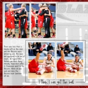 Whitney's College Basketball Scrapbook page 20