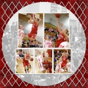 Whitney's College Basketball Scrapbook page 23