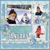 January 2016 Calendar-Our Family