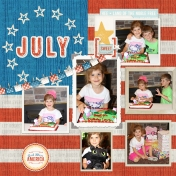 July 2016 Calendar-Our Family