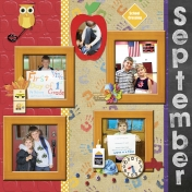 September 2016 Calendar-Our Family