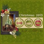Christmas 2015-Nativity Scene