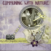 Cummuning With Nature