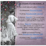 The 14 marks of a wise woman- 2