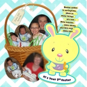 Avery's First Easter