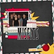 Misfits- Bowling