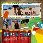Beach Day at Grandpa's