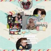 Monkey Birthday Boy