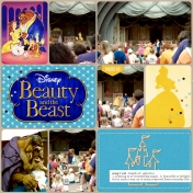 Disney World Beauty and the Beast Performance (1992)
