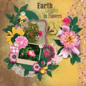 pockets of posies- earth loves in flowers