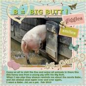 B = Big Butt