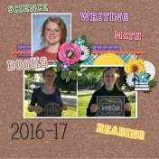 Mackenzie- school year 2016-17