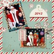 Christmas 2012 with Santa