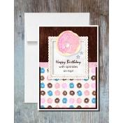 Donut Worry Bundle Birthday Card