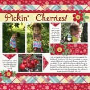 Pickin' Cherries!