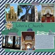 St. John's Church (left)