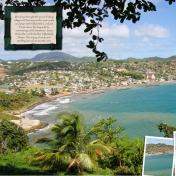 Dennery, St. Lucia (left)