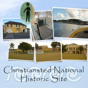 Christiansted National Historic Site (left)