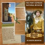 Pony Express (Left)