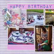 AJ's Birthday (left)