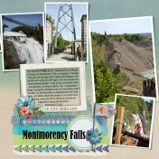 Montmorency Falls (right)