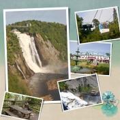 Montmorency Falls (left)