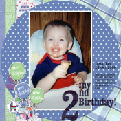 Jason's second birthday