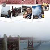 Mist on the Golden Gate Bridge