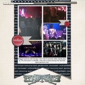 Escape the Fate layout