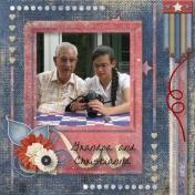 Grandpa and Christianna