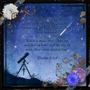 Psalm 8:3,4